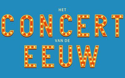 Het Concert van de Eeuw in het nieuws bij Omroep Veldhoven
